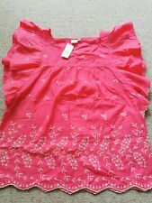 Gap Womens pink Cotton Top Medium