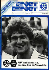 BL 78/79 MSV Duisburg - VfL Bochum, 08.09.1978