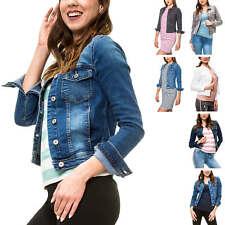 Only Damen Jeansjacke Übergangsjacke Leichte Jacke Denim Blue Casual NEU
