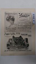 Mappin & Webb's Fitted Travelling Bags: The 1894 Black & White Magazine Pages