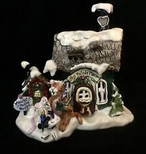 New ListingBlue Sky Clayworks Christmas Kitty's Melody Mansion w Mouse's Music House 2003