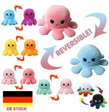 Octopus Plüschtier Kuscheltier Doppelseitiges TikTok Kinder Spielzeug Neu