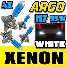 H7 55W WHITE XENON MAIN/DIPPED/SIDE BEAM HEADLAMP LIGHT BULBS ICE UPGRADE 4X