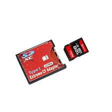SD to CF Card Adapter Flash Converter Reader for SLR Camera WIFI SD Card Adapter