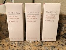 Lot Of 3 New in Box Mary Kay Balancing Moisturizer Formula 2