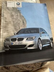 Bmw M5 Owners Manual Handbook 2005