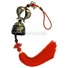 Fish Wind Chime Hanging Bell Fortune Symbol Chinese Knot Feng Shui Ornament Deco