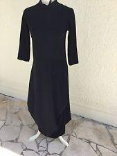 """L'indémodable Robe Noire Déstructurée """"M&F GIRBAUD """" Taille 42 F"""