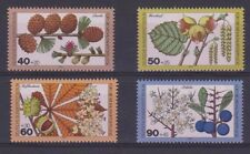 GERMANY MNH STAMP DEUTSCHE BUNDESPOST BERLIN 1979 FLOWERS & FRUIT  SG B582 - 85