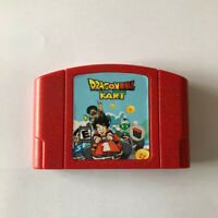 1pcs Game Card N64 Dragon ball kart for Nintendo 64 US edition