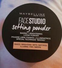 ⭐Maybelline facestudio Loose Setting Powder - baking/brightening NEW