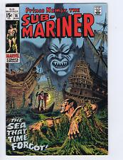 Sub-Mariner #16 Marvel 1969