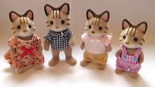 Sylvanian Mccavity Cats in Super Condition