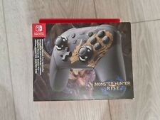 Nintendo Switch Pro Controller - Monster Hunter: Rise Edition (Switch) NEW