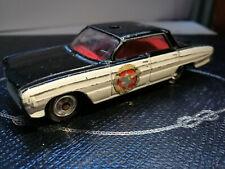 Vintage Corgi Britain Diecast Car: #237 Oldsmobile Super 88 Police Car