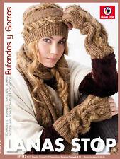 Lana stop accesorios No. 112 otoño-invierno 2011-2012 estupendos u. gorros pañuelos