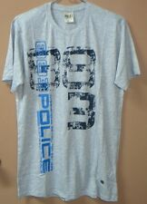W65:New £25.00 883 POLICE T-Shirt for Men-XL-Gray