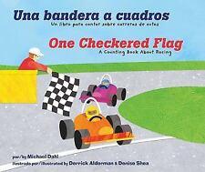Una bandera a cuadros/One Checkered Flag: Un libro para contar sobre carreras d