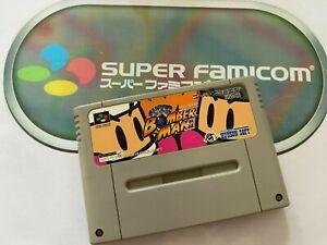 SUPER BOMBERMAN  - Nintendo Super Famicom  SFC - (Japan)