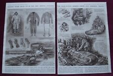 PRINTS 1943 R.A.F. WW2 BOMBER CREW FLYING SUITS + CLOTHING FOR AIRBORNE TROOPS