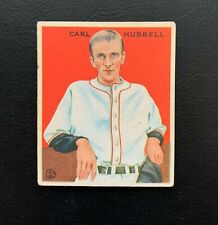 1933 Goudey Carl Hubbell, New York Giants  #234 HOF Star   (VG/EX) - See Pics