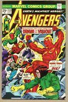 Avengers #134-1975 fn+ 6.5 Origin of the Vision / Mantis / Gil Kane Ultron