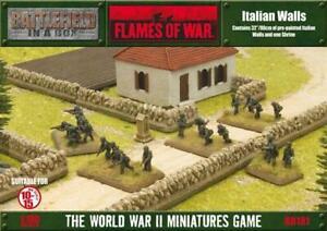 Battlefront FoW WWII 15mm Italian Walls SW