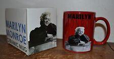 Marilyn Monroe RED Ceramic Mug Coffee Mug 12oz Officially Licensed Merchandise
