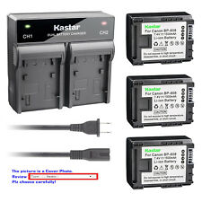 Kastar Battery Rapid Charger for Canon BP-808 BP808 Battery Canon CG-800 Charger