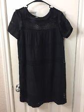 etoile isabel marant Black Short Sleeve Dress Sz 34