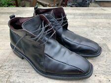 Vero Cuoio Black Leather Shoes / Ankle Boots - Size 7.5 / Eu 41