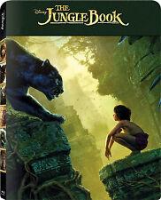 The Jungle Book (2016) (Blu-ray 3D) (Single Disc) [STEELBOOK] (NEW)