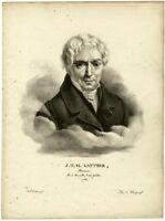 Lithographie, Burggraaff, Eeckhout, Latteur, ca. 1830