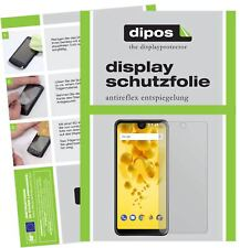 6x Wiko View 2 Screen Protector Protection Anti Glare dipos