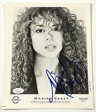 MARIAH CAREY Autograph RARE VINTAGE Signed Photo 8x10 JSA Authentication