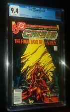 CRISIS ON INFINITE EARTHS #8 1985 DC Comics CGC 9.4 NEAR MINT