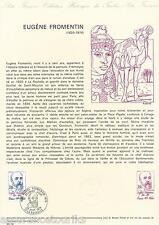 DOC. PHILATÉLIQUE - CÉLÉBRITÉS  - 1976 YT 1897