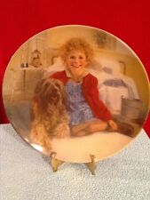 """Knowles """"Annie and Sandy"""" Annie Collector's Plate 1982"""