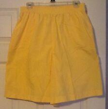Cade Cod Sportswear Women's Yellow Shorts Size 16
