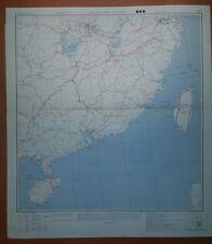 1945 US Army Asia Transportation Maps - China  WW II - 4 sheets