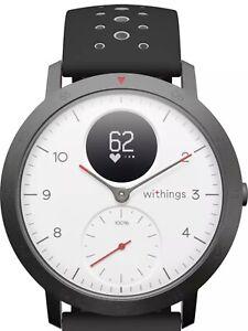 Withings STEEL HR Sport Fitnesstracker weiß Bluetooth 44mm OLED Display