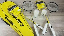 Carlton Badminton Set 2 Rackets & 3 Shuttlecocks in Case