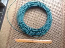 GARDEN WIRE - HEAVY DUTY GREEN PLASTIC COATED