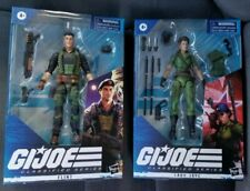 G.I. Joe Classified Flint and Lady Jaye 2 figure LOT! IN HAND!