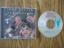 John Denver & The Muppets CD A Christmas together EX LaserLight 12761