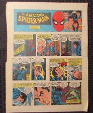 1977 Spider-Man Sunday Comic Strip 6/12/77 John Romita Fn- Rattler
