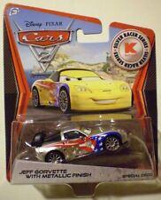 CARS 2 - JEFF GORVETTE Metallic Finish - Mattel Disney Pixar KMART