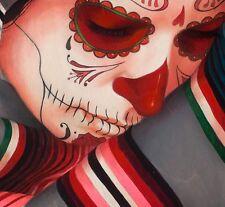 Sylvia Ji New Serape Grey Giclee Art Print COA Signed & Numbered Edition 100