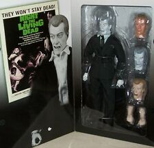 Night Of The Living Dead Action Figure doll Walking Graveyard zombie Xmas goth
