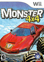 Monster 4X4 World Circuit Nintendo Wii Game - Complete